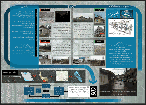 دانلود کارگاه شهرسازی 3 در شهر رشت – توامند سازی محله با استفاده از CDS