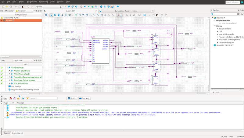 کد VHDL ماشین فروش(vending machine) با استفاده از ماشین حالت متناهی (FSM) در نرم افزار Quartus