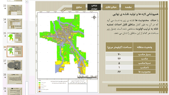 مکانیابی-تصفیه-خانه-فاضلاب-برای-شهر-رشت