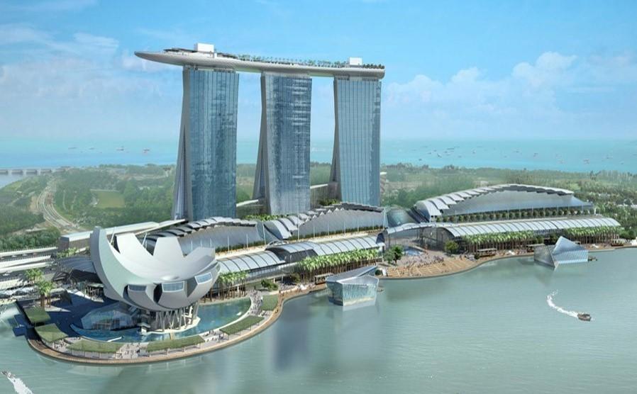پاورپوینت-بررسی-سازه-پارک-آبی-سنگاپور