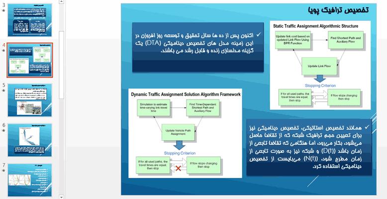 بررسی-انواع-مدلهای-تخصیص-پویا-در-برنامه-ریزی-حمل-و-نقل
