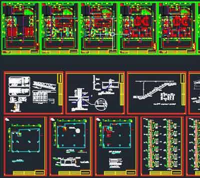 دانلود-پلان-ساختمان-مسکونی-پنج-سقف-150-متری