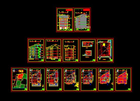 دانلود-پلان-مسکونی-سه-طبقه-115-متری-با-جزییات-اجرایی-کامل