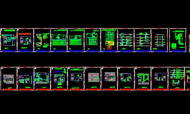 دانلود-پلان-مسکونی-سه-طبقه-130-متری-با-جزییات-اجرایی-کامل