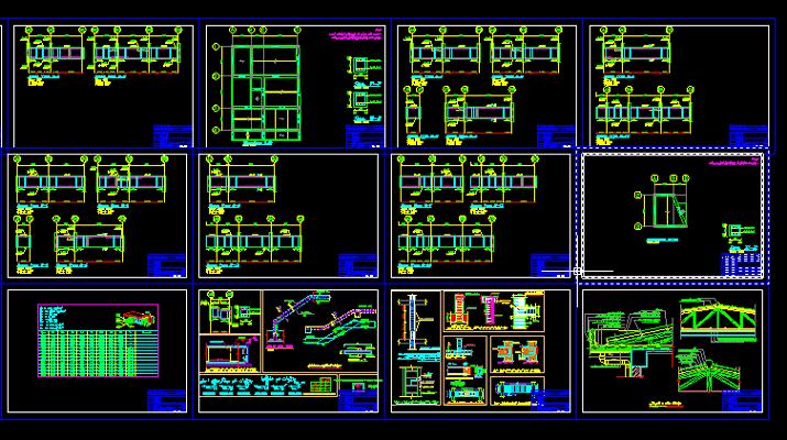 دانلود-پلان-مسکونی-سه-طبقه-145-متری-با-جزییات-اجرایی-کامل