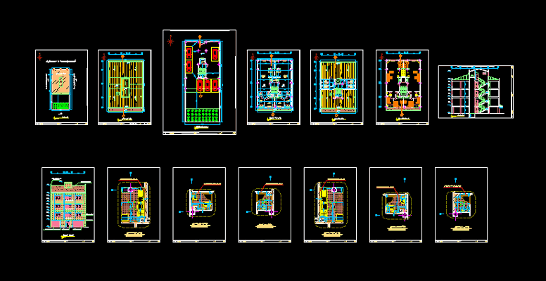دانلود-پلان-ساختمان-مسکونی-سه-طبقه-245-متری-با-جزییات-اجرایی-کامل