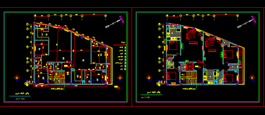 دانلود-رایگان-پلان-ساختمان-مسکونی-دو-طبقه-روی-پیلوت-180-متری