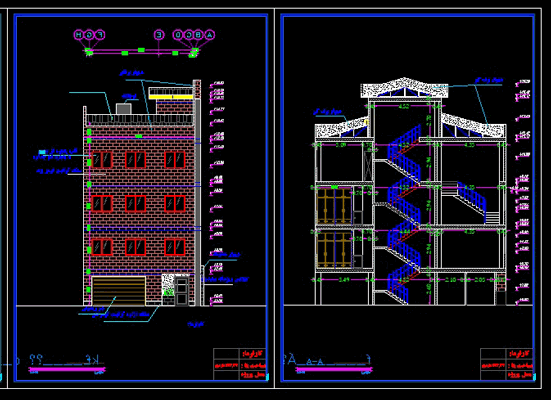 دانلود-رایگان-پلان-ساختمان-مسکونی-سه-طبقه-115-متری