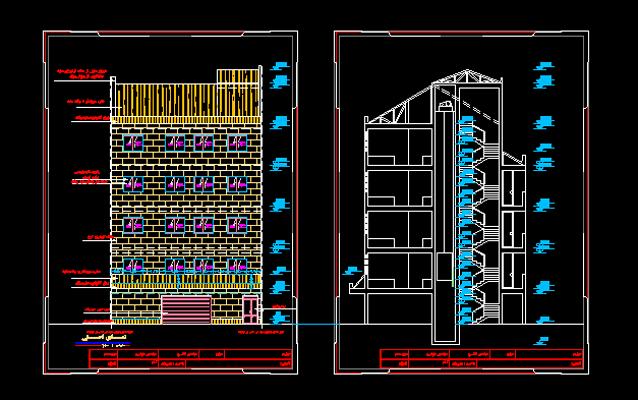 دانلود-رایگان-پلان-ساختمان-مسکونی-چهار-طبقه-160-متری